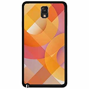 Abstract O Pattern Plastic Phone Case Back Cover Samsung Galaxy Note III 3 N9002