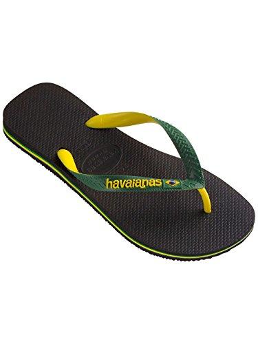 Havaianas Brasil Mix 4 123 206-41232060090 Zwart-groen