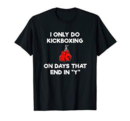 Kickboxing T-Shirt Gift - Funny Kickboxer ()