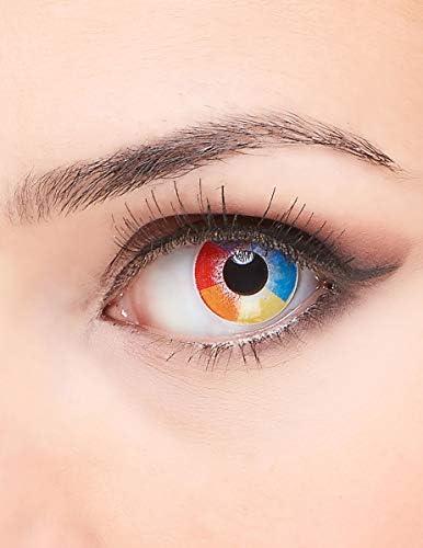 Generique - Lentillas de Contacto fantasía arcoíris Adulto: Amazon.es: Salud y cuidado personal