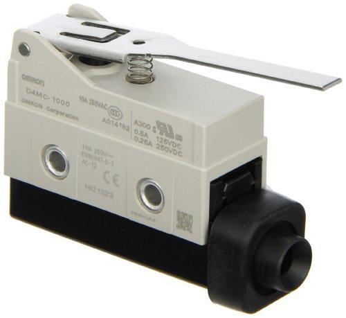 Enclosed Basic Switch (Omron D4MC-1000 High Utility Enclosed Switch, Economical, Hinge)