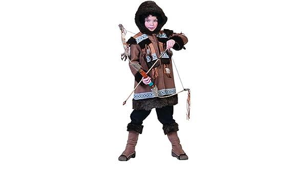 Disfraz esquimal niño 10-12 años (140/152): Amazon.es: Juguetes y ...