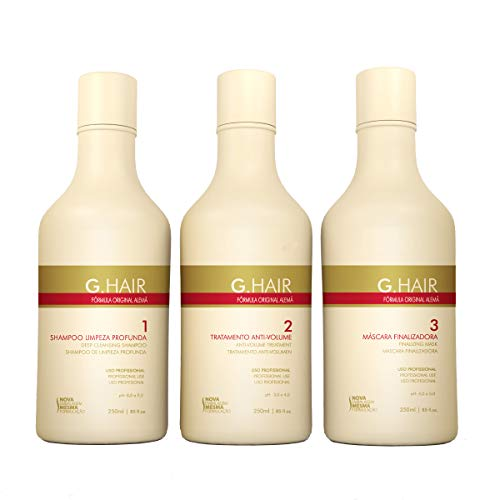 G.Hair Original Formula Smoothing Treatment Kit- 3-Steps - 250ml / 8.4oz