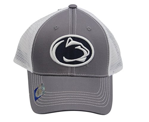 Collegiate Headwear Penn State Grey Ghost Baseball Cap with mesh Back