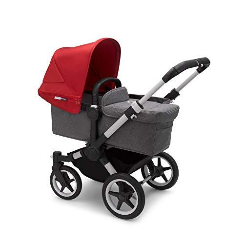 Bugaboo Donkey 3 Mono – Cochecito con capazo y silla convertible a carrito doble para que tus peques paseen lado a lado…
