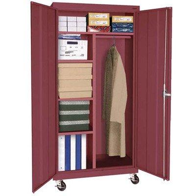 Sandusky Lee TACR362472-01 Transport Series Mobile Combination Storage Cabinet, (Series Mobile Combination Cabinet)
