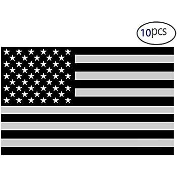 effd7f8d0b9 10PCS American Subdued Flag Sticker Tactical Military Sticker 4
