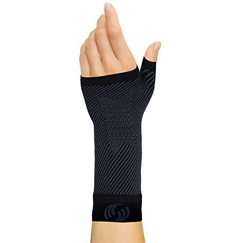 OrthoSleeve Patented WS6 Compression Wrist Sleeve (Single Sleeve) for Carpal Tunnel Syndrome, wrist pain and fatigue, and arthritis – DiZiSports Store