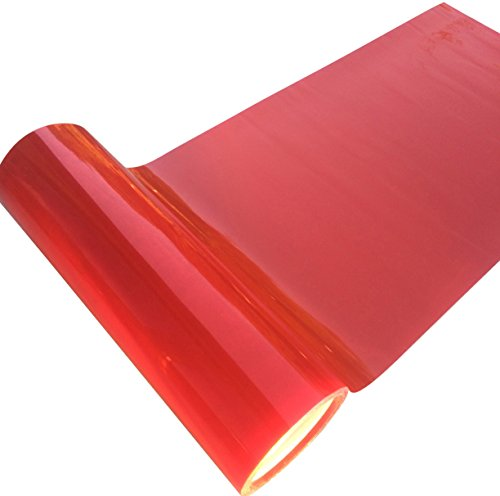 Direct Products Smoked Car Headlight Wrap Film 1200 X 300mm Red Lense - Lenses Tinting