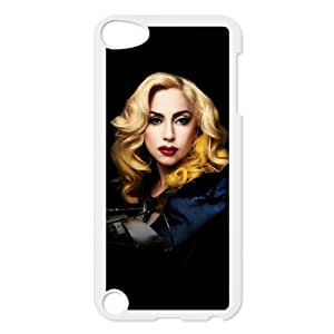 Unique Design Personalized Phone Case for Ipod Touch 5 - Lady Gaga Cover Case JZQ-918545