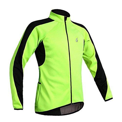 るパプアニューギニア不機嫌そうなHomyl 高品質 ロングスリーブ 防水 衣装 サイクリング ジャケット ジャージー 夜間安全確保 快適 全5サイズ