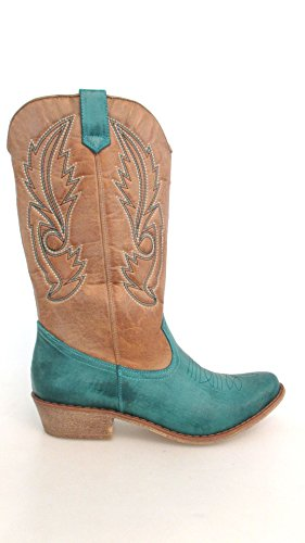 By Coconuts Matisse Gaucho Women's Turqoise Boot tan qHHgOdwn