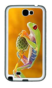 Samsung Galaxy Note II N7100 Cases & Covers -Treefrog Animal Custom TPU Soft Case Cover Protector for Samsung Galaxy Note II N7100¨C White