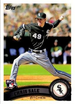 Chris Sale Baseball (2011 Topps Baseball #65 Chris Sale Rookie Card)