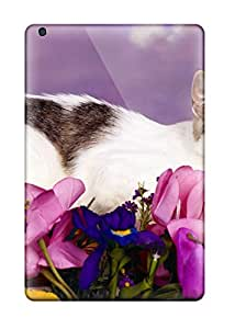 Best High Quality Lovely Cat Skin Case Cover Specially Designed For Ipad - Mini 2