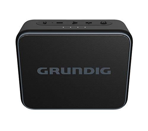 Grundig GBT Jam Black Bluetooth-luidspreker, 30 meter bereik, meer dan 30 uur speeltijd