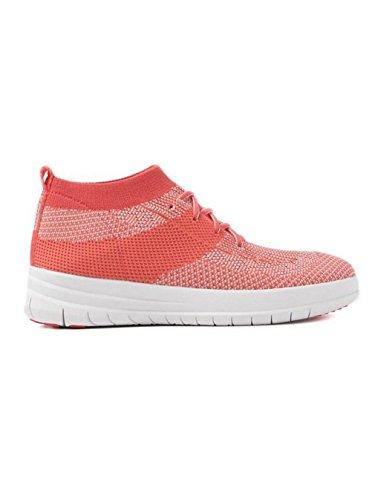 Sneaker Slip-on Fit Flop Da Donna Uberknit Alta, Nero, Taglia Unica Rosa