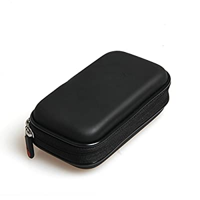 For RAVPower FileHub Plus Versatile Wireless Router SD Card USB Reader Portable Drive Companion DLNA NAS Sharing Media Streamer 6000mAh External Battery Hard EVA Travel Case Carrying by Hermitshell