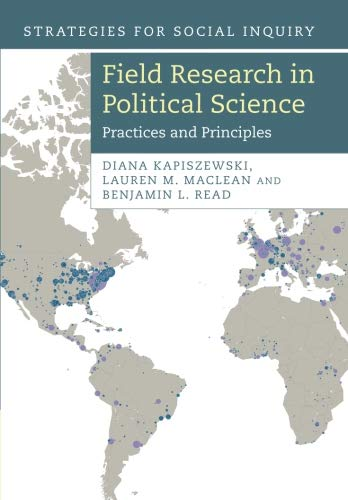 Download Field Research in Political Science: Practices and Principles (Strategies for Social Inquiry) ebook