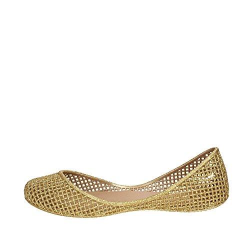 Gold Women Ballet 06661 81982 Flats Zaxy pXUq1x