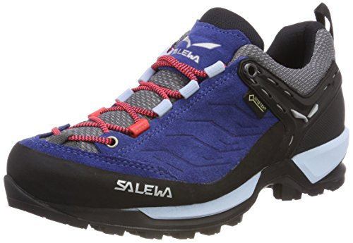 Salewa Ladies Ws Mtn Trainer Gtx Scarpe Da Trekking E Da Trekking Multicolore (denim Scuro / Papavero)