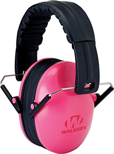 Walker's Children-Baby & Kids Hearing Protection/Folding Ear Muff, Pink -