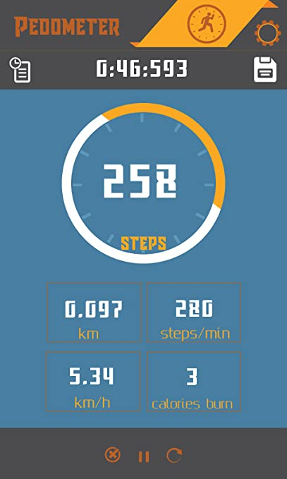 Amazon com: Pedometer Step Counter: Appstore for Android