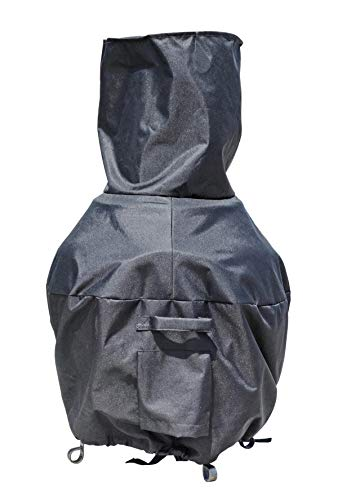chiminea clay outdoor fireplace - 7