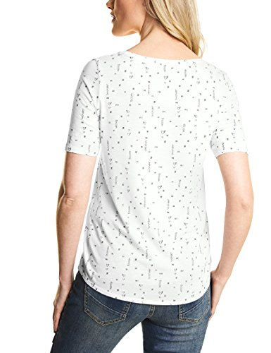 Donna Bianco T White Off Shirt Cecil 20125 Pure Ep4Aqtn