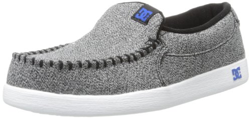 DC Shoes Mens Shoes Villain Tx - Slip-On Shoes - Men - US 9.5 - Black Black/Plaid/White US 9.5 / UK 8.5 / EU 42.5