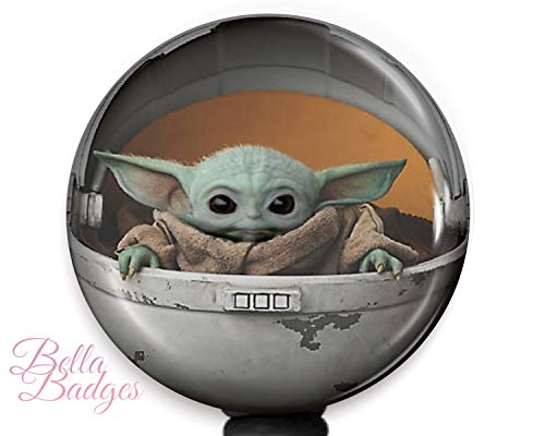 Baby Yoda Badge Reel