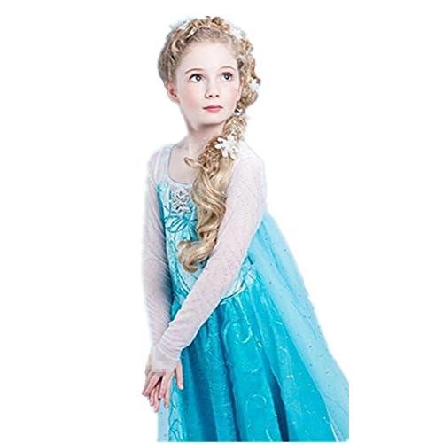 Delicate Disfraz De Princesa Elsa Anna De Frozen Para