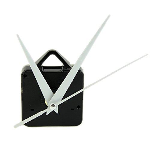 OHTOP Quartz Wall Clock Movement Mechanism DIY Repair Tool Parts Kit White Hands