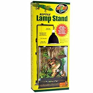 Amazon Com Zoo Med Reptile Lamp Stand Large Pet Supplies