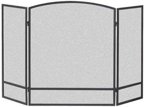Panacea 3 Paneles de Pantalla de Arco, Metal, Negro, 62,2 x 3,8 x 74.40000000006 cm: Amazon.es: Hogar