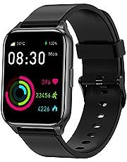 Tranya SmartWatch, 1.69'' Tela Full Touch Colorida, 7 a 10 dias de duração da bateria, IP68 à prova d'água, rastreador de condicionamento físico, monitor de frequência cardíaca, TranyaGo Sports Watch