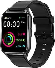 Tranya SmartWatch, 1.69'' Tela Full Touch Colorida, 7 a 10 dias de duração da bateria, IP68 à prova d'água