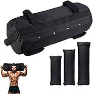 GTMOER Fitness Sandbags, Workout Sandbag for Fitness, Heavy-Duty Weight Training Sand Bag with Empty Filler Ba