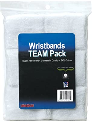 Unique Sports Wristbands Team Pack of 6