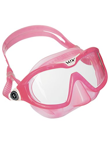 (Aqua Lung Sport Mix Junior Reef Toddler Swim & Snorkeling mask Pink (Clear Lens))