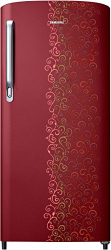 Samsung RR19M2712RJ Direct-cool Single-door Refrigerator (192 Ltrs, 4 Star Rating, Tendrill Red)