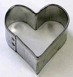 R M Heart Cookie Cutter