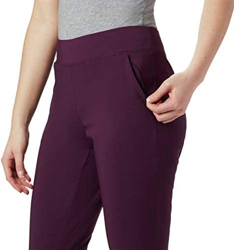 Columbia Women's Back Beauty II Slim Pants, Stain Resistant, Sun Protection