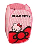 Ikeelife Cartoon Cute Animal Hello Kitty Foldable Laundry Basket Barrels Underwear Children Toys Clutter Storage Basket Pink
