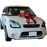 """30"""" Magnetic Car Bows - RED"""