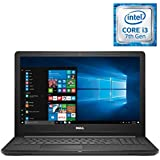Dell Inspiron 15.6 HD Laptop PC, Intel Core i3-7130U 2.7GHz CPU, 8GB DDR4, 128GB SSD, Bluetooth, MaxxAudio, HDMI, Stereo Speakers, Intel HD Graphics 620, Windows 10, Upgrade up to 16GB RAM 256GB SSD