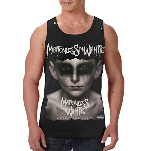 CarterH Motionless in White Graveyard Shift Men's Training Vest Tank Top Shirts -