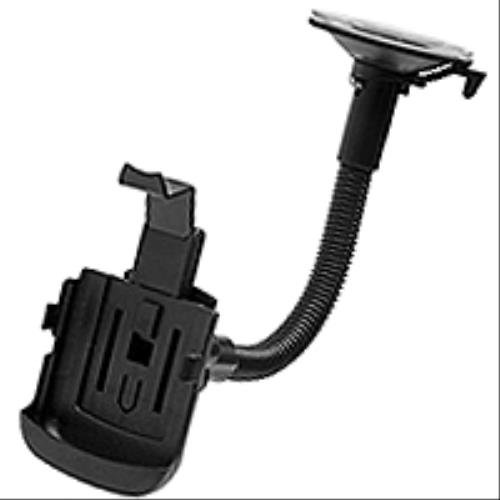 Blackberry Storm 2 Faceplate - Premium Windshield Detachable Cell Phone Car Mount Holder for Blackberry Storm 2 9550