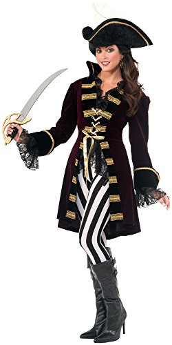 Forum Novelties Women's Captain Morgana Costume, Multi, X-Small/Small