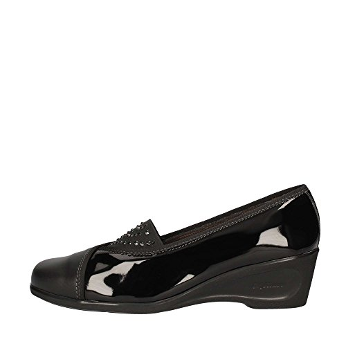 Melluso K90246 Loafer Flat Women Black 38